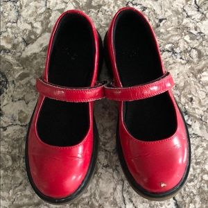 Red Mary Janes Dr. Martens Girls Size 3